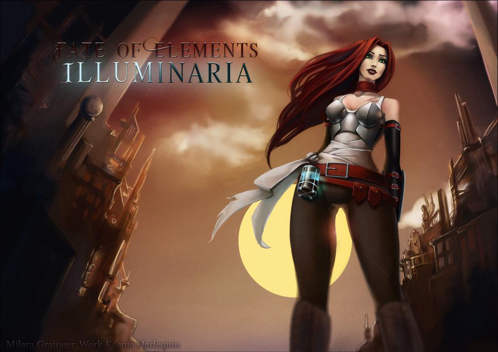 Fate of Elements: Illuminaria (Milara Grainger) by KseniaHarlequin