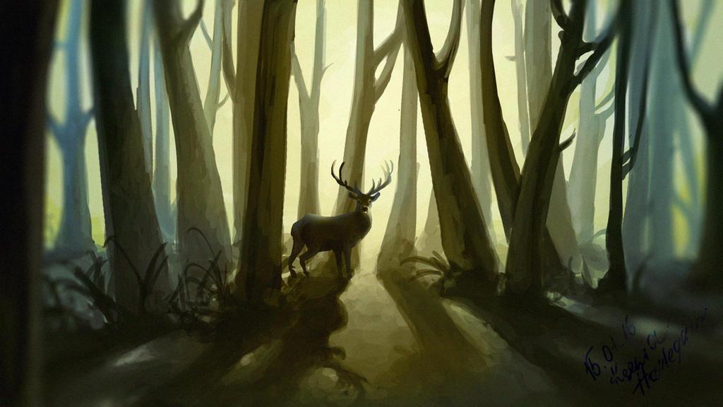 Deer... by KseniaHarlequin