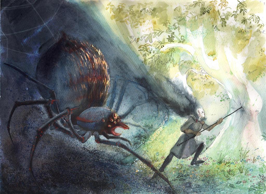 of the darkening of Valinor 6 by Titita