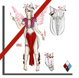 Delphi - Feoni ref sheet by Exeidur
