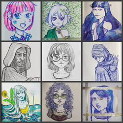 Traditional art - 2021 part 1