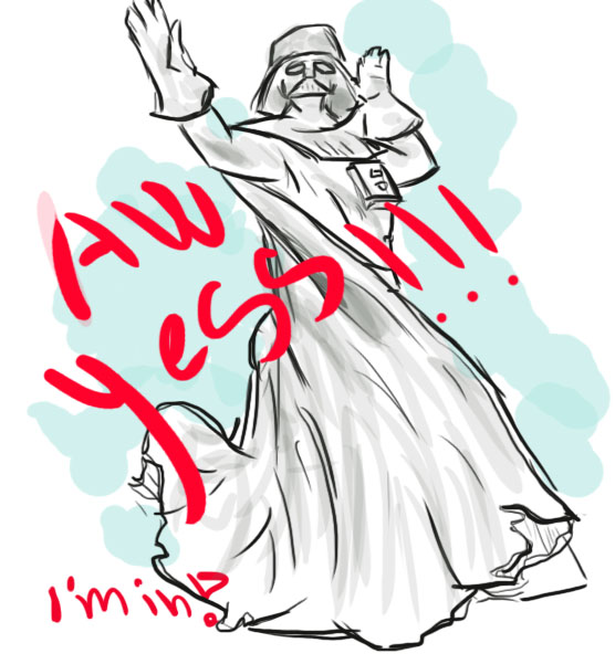 Vader Yes by riksa90