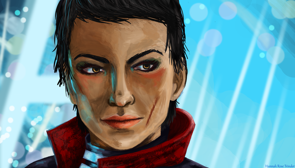 Cassandra Digital Painting by THWT