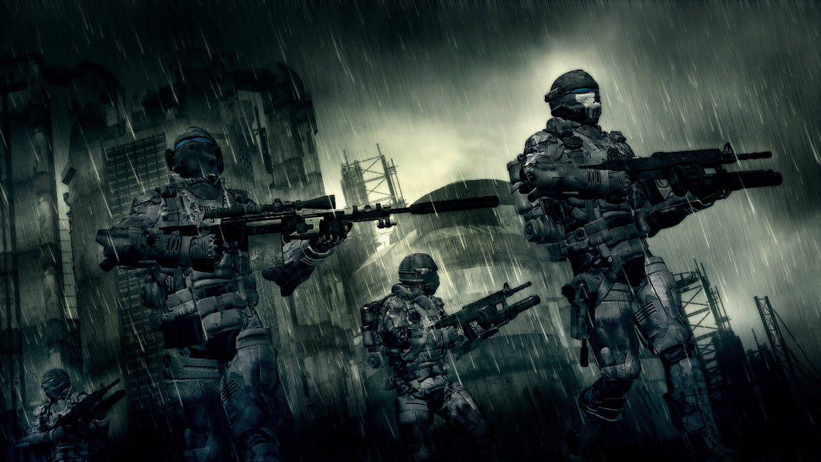 Rain Patrol by Vilk42