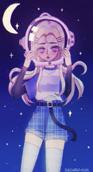 Astronaut girl by Dachiro-kun