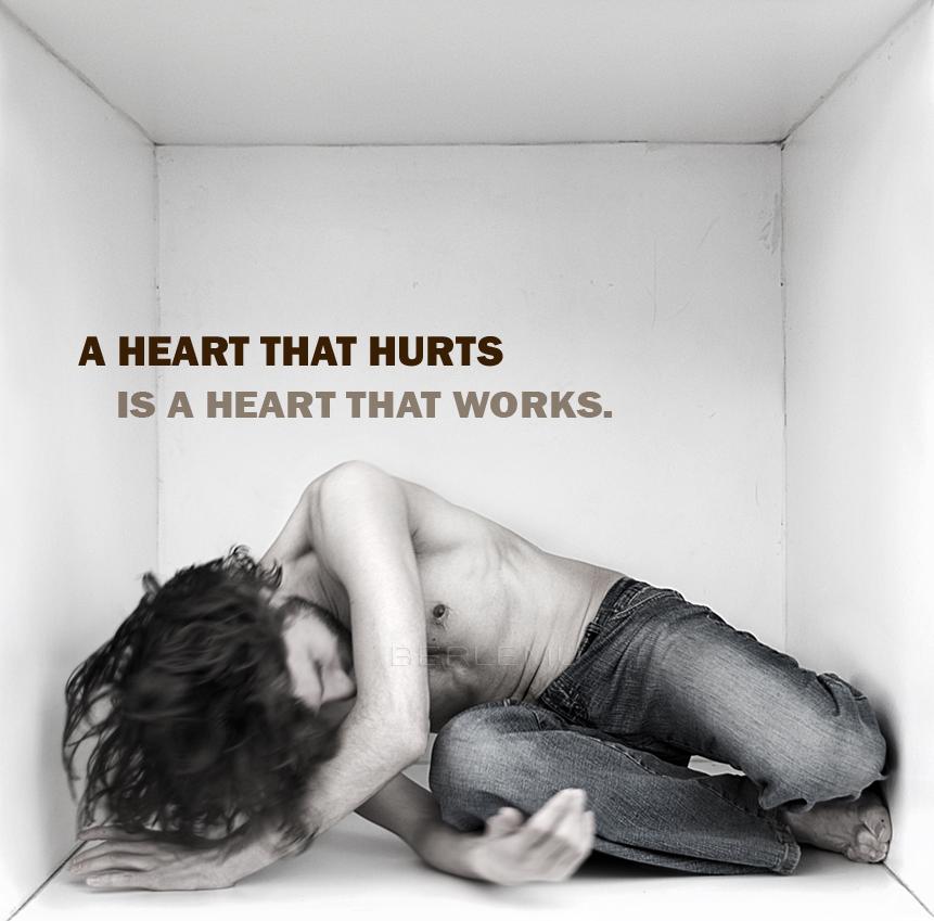 A Heart That Hurts. by Kimberleyelrebmik