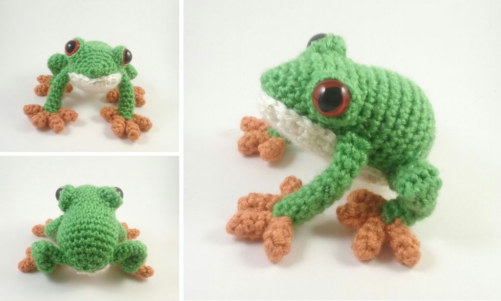 Mr. Frog the yoga master: crochet pattern (With images) | Crochet ... | 615x1024