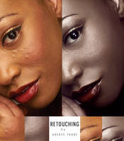 Retouch of -The Black Lady