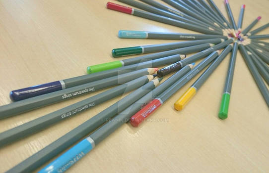 Photography Composition With Pencils