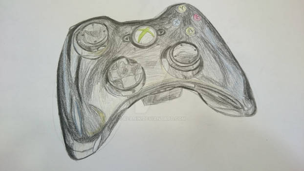 Xbox Controller (unfinished)