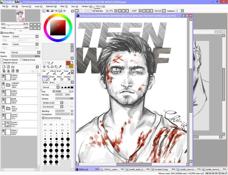 Teen Wolf fan art2 by Rochioo
