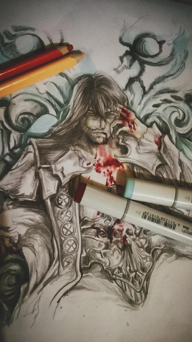 Castlevania commission by Rochioo