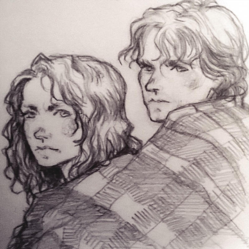 Outlander sketch by Rochioo