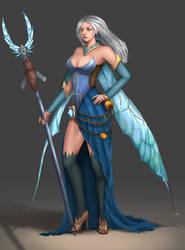 Sorceress by KangHaffiz