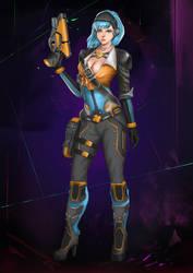 Gamestart girl contest - 2017 by KangHaffiz