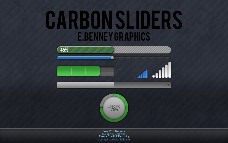 Loading Bars [Free Download] by EBGraphics