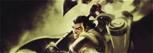 SpeedArt // League of Legends Darius Signature by EBGraphics