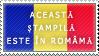 Romanian stamp by MiiSan