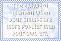 That awkward stamp by MiiSan