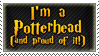Potterhead stamp