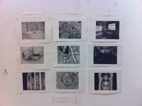 My printmaking collection