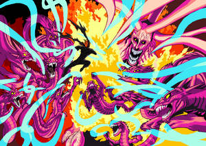 Orochi VS Garou