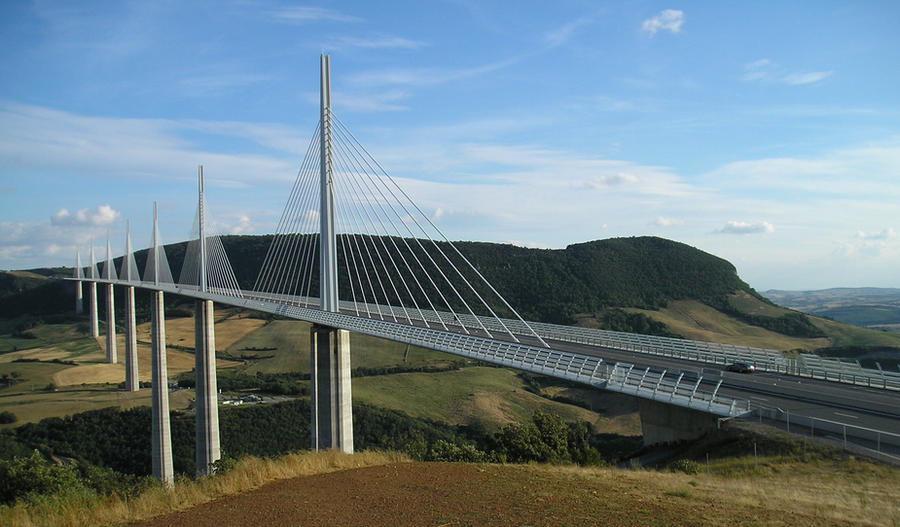 Millau France  city pictures gallery : France Millau Viaduct by aprmason on DeviantArt