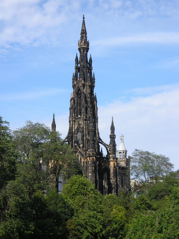 Edinburgh - Walter Scott Monument by aprmason