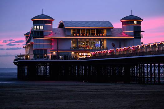 Weston-Super-Mare - Sundown