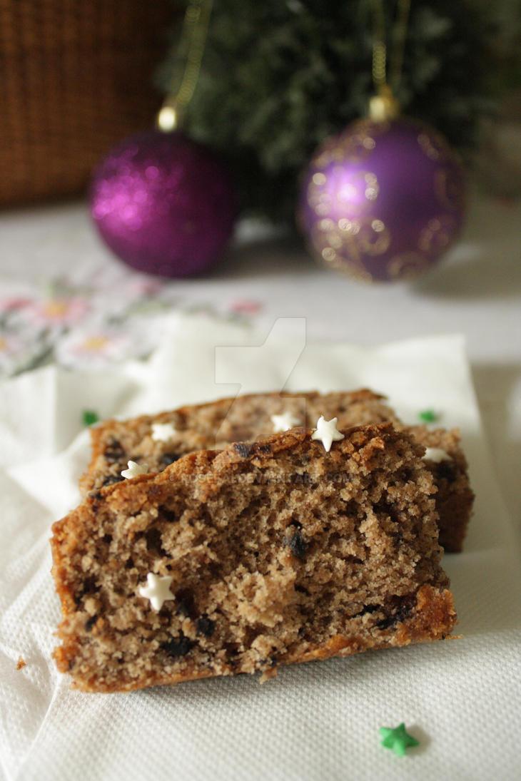 Wintery Spice Cake I by rosefai