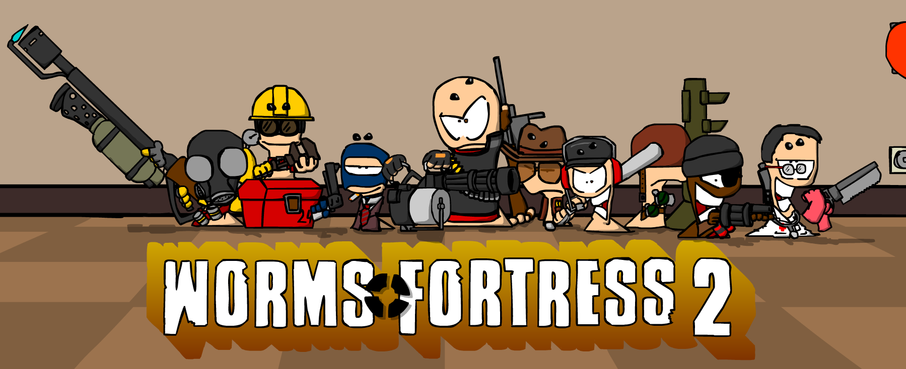 Worms Fortress 2 by KilburnTheTweaker