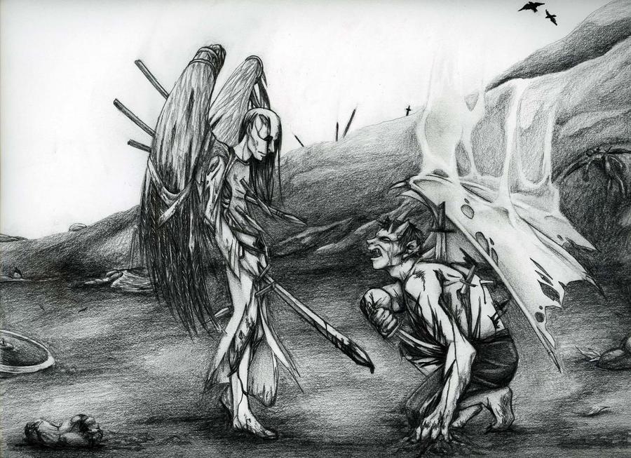 On The Battlefield by KaTokubi