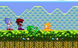 Ultra The hegehog 16-bit by Razer112