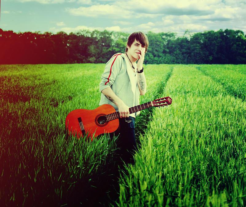 Boy With Guitar By Choochiaki