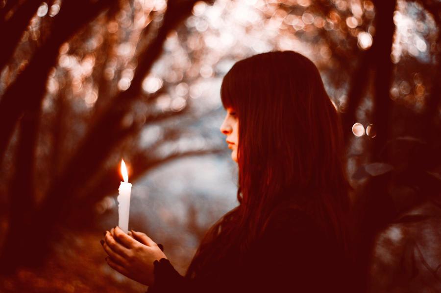 red forest witchII by choochiaki