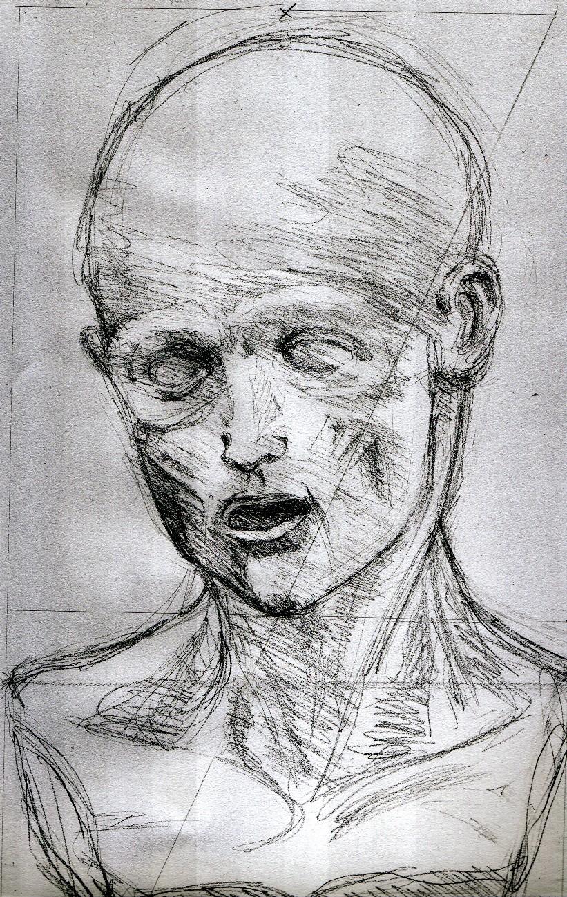 Human face sketches