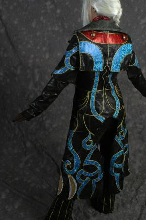 Cloak of Sidhe - Back Standing by gstqfashions