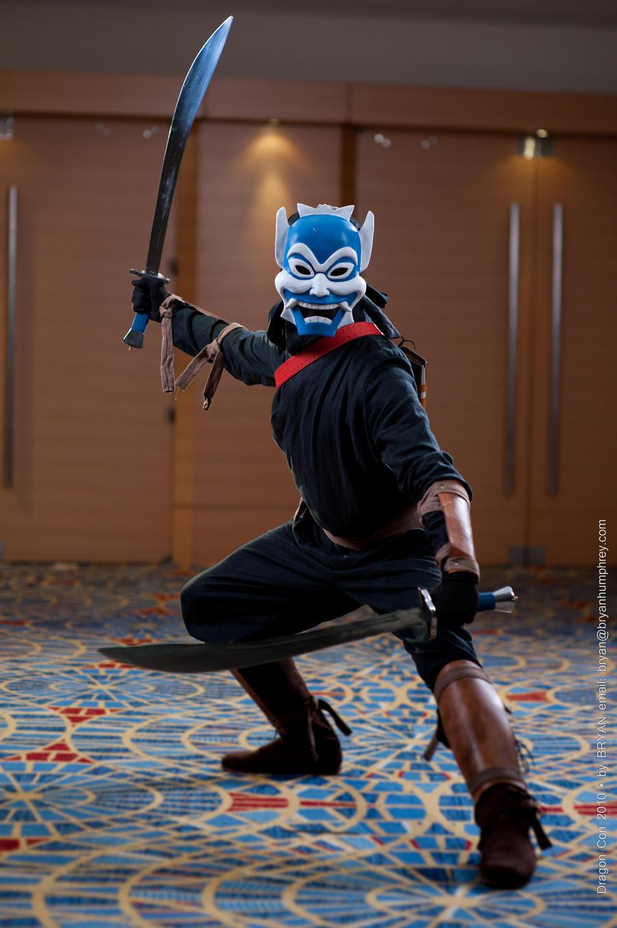 Blue Spirit at DragonCon