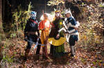 Avatar Group in the Forest