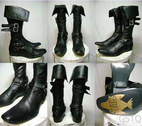 Megamind Boots by gstqfashions