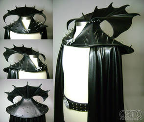 Megamind Collar and Cape by gstqfashions