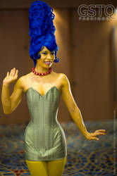Marge Simpson by gstqfashions