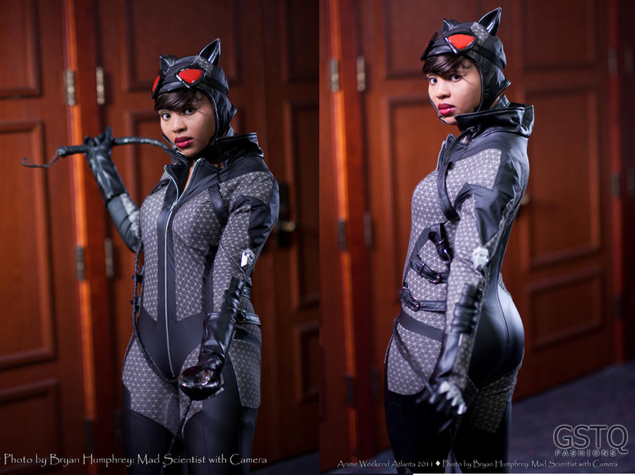 Arkham City Catwoman by gstqfashions