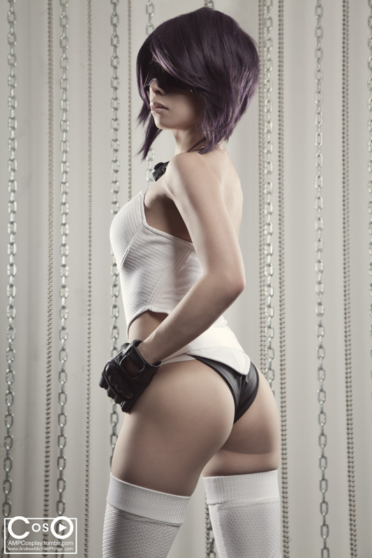 Major Kusanagi - Back View by gstqfashions