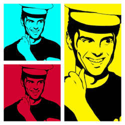 Andrew Scott Pop Art