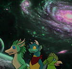 The Misadventures in Space Chapter 1 Cover