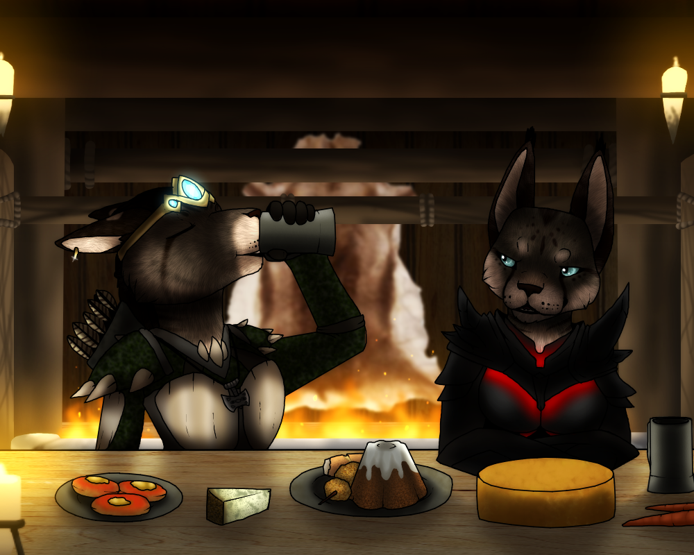 I'm not paying for all this food by xXBlueFireDragonXx