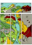Marque-pages Terre du Milieu
