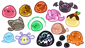 A Bunch of Slimes