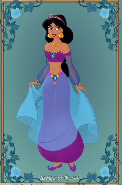 Princess Jasmine In A Dress
